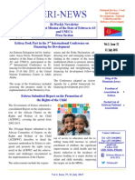 Eri-News Issue 37, 21 July 2015