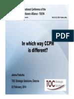 Jelena Fedurko_How is CCPM differnt_10 TOCPA_Feb 2013_India_22 Feb 2014_FIN