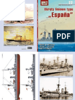 """Nikołaj Mitiuckow, Rafael Fernandez, Kent Crawford - Okręty liniowe typu """"Espana"""" - Okręty Wojenne 22 numer specjalny"""