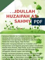 Abdullah Huzaifah as-sahmy