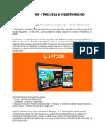 Aptoide - Descarga y Repositorios de Aptoide APK
