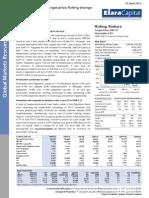 Cairn India - Elara Securities - 24 April 2015