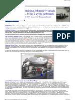 Evinrude Pump Lower Unit