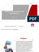 21_WCDMA Analise Dos Problemas de Interferencia