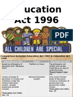 Education Act 1996 (1)education act 1996
