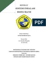 Inhalasi Isoflurane