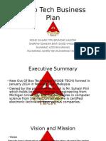 NOOB Tech Business Plan