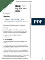 Method Statement for Asphalt Paving Works – Civil Engineering