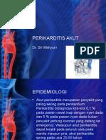 Perikarditis Akut Dr Sri