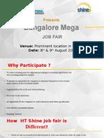 Bangalore Mega Job Fair 2015
