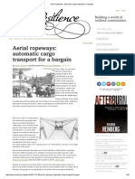 Aerial Ropeways_ Automatic Cargo Transport for a Bargain