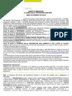 Bando Sanitarie 2015-16