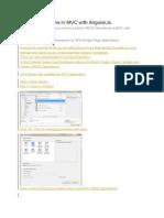 CRUD Operations in MVC With AngularJs
