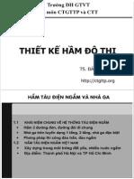Bai Giang CTN Do Thi - Khai Niem
