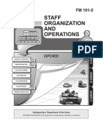 Staff Organization and Operations - Department of the Army