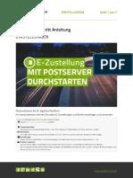 Schritt-für-Schritt Anleitung Postserver