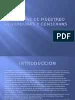 Programas de Muestreo en Verduras y Conservas