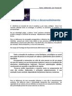 Crise de Desenvolvimento e Desafio Desenvolvimental (1)