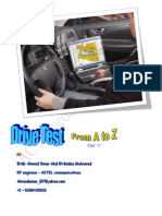 Drive Test From a to Z