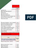 Canasta Básica Precios Elevados 05-11 Junio 2015