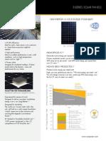 Ds e20 Series 327 Residential Solar Panels