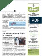 De WEINBAU OIV Übernimmt Schirmherrschaft