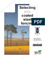 Selecting Zinc Coated Steel Fencing