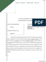 (HC) Bermudez v. Gonzalez et al - Document No. 6