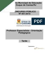 Professor Especialista - Orientação Pedagógica