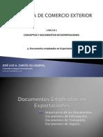 Documentos Empleados en Exportaciones