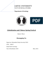 THESIS Globalization and Chinese Spring Festival Part Full Text in Is