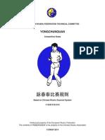 Wingchun Rules 2014