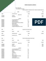 Analisis de costos unitarios Escaleras y Escalinatas