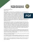 Gormley DOJ Press Release