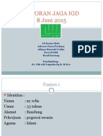 Laporan Jaga Igd 8 Juni 2015 Adro Aya