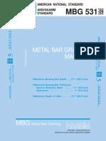 MBG_531-09 Metal Bar Grating Manual