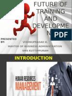 Future of Training and development