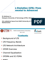 Long-Term Evolution (LTE) From Fundamental to Advanced