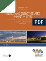 Energy and Energy-Related Mining in Utah