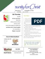 Mini Newsletter 113
