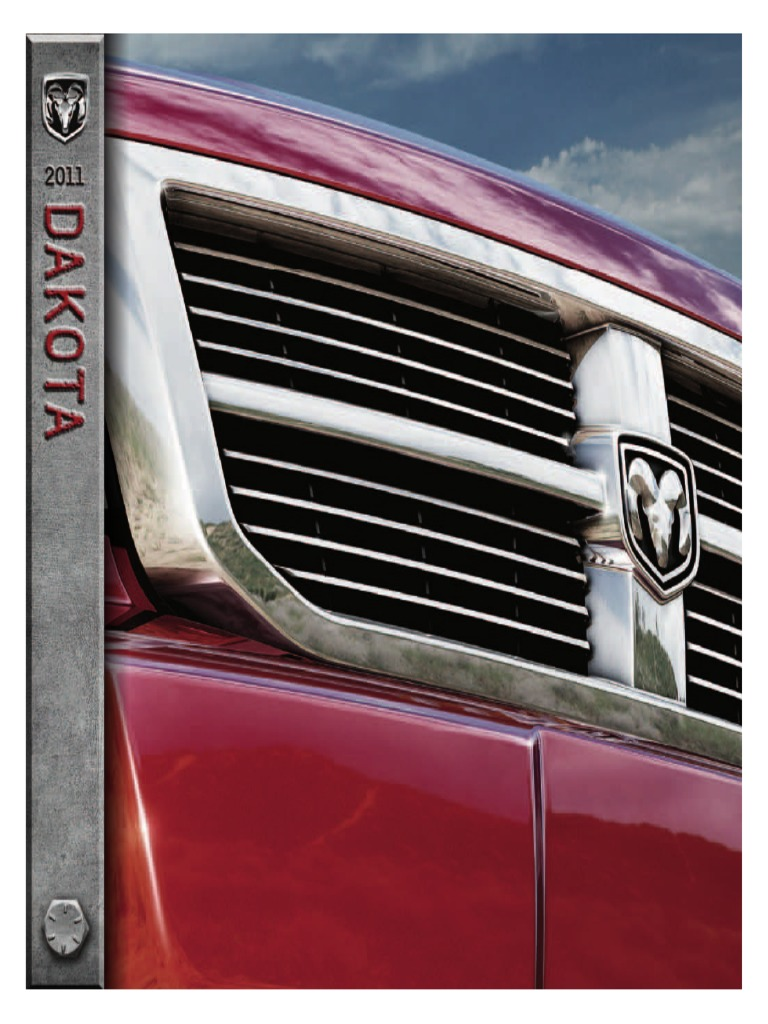 Dodge Dakota 2011 Misc Documents