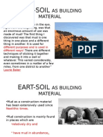 Eart Soilasbuildingmaterial OTHER MATERIALS