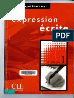 FLE Expression Ecrite Niveau 1