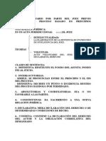 La Sentencia/Procesal Civil