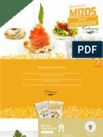 Recetas Mizos - 25 snack saludable
