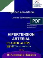Hipertension Arterial 2º-RM 03-07-07