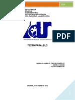 Texto Paralelo Procesos Agroindustriales