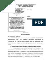 Demanda CPI Solicitando Información Al Gobierno