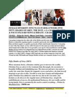 Female Diversity Five Ways In Hollywood - Fifty Shades Of Grey, The Duff, A La Mala, Chappie & Focus Film Reviews & Debate - David L. $Money Train$ Watts - FuTurXTV & Funk Gumbo Radio- 3-20-2015