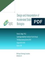 Magil S-Design and Interpretation of Accelerated Stability Studies of Biologics-rprint